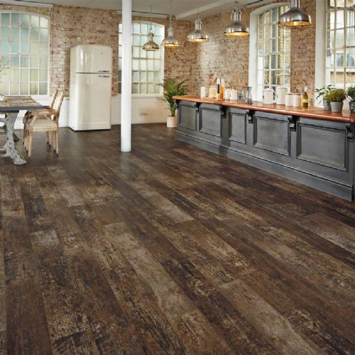 Karndean Van Gogh Wood Flooring Salvaged Redwood